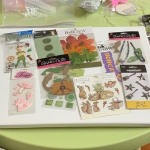 Other - Lot 44 - Scrapbook Stickers
